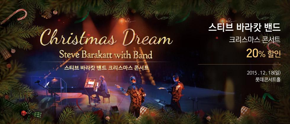 2016 Steve Barakatt with Band 스티브 바라캇 밴드 크리스마스 콘서트